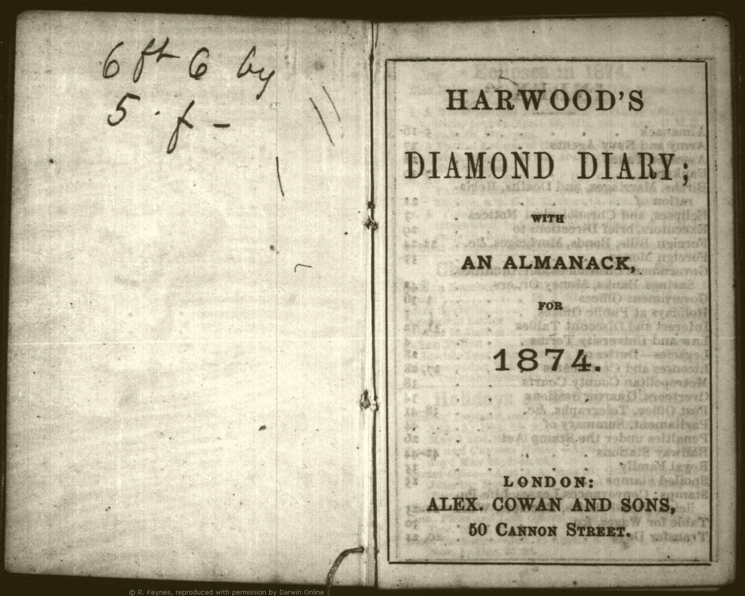 thursday 30 april 1874